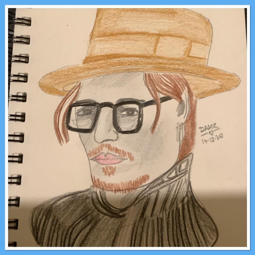 Johnny Depp by dasee